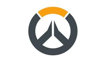 Overwatch logo white