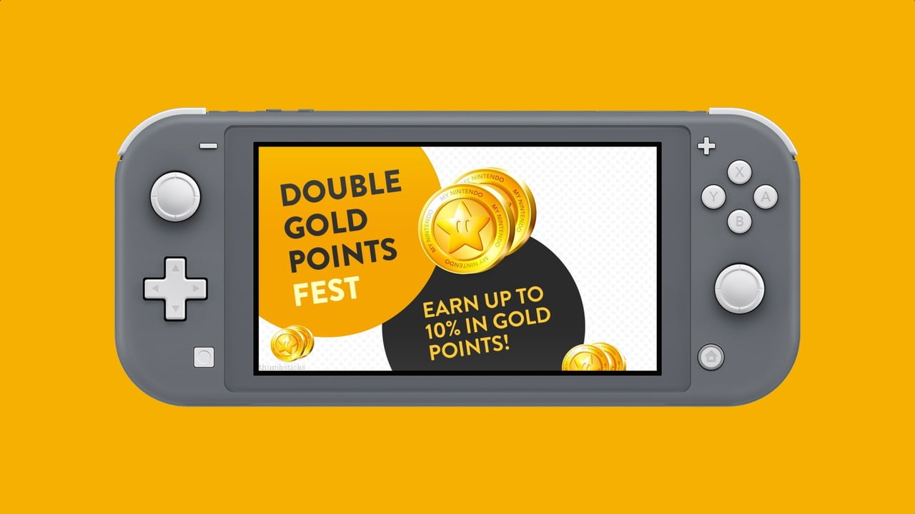 Earn Double Gold Points on the Nintendo eShop for the next month