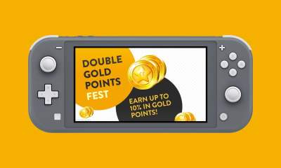 Nintendo eShop Double Gold Points Fest