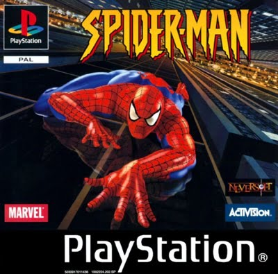 Spider-Man PlayStation 1 Box Art