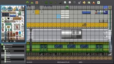 RPG Maker map editor