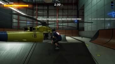 Tony Hawk's Pro Skater 2 hangar