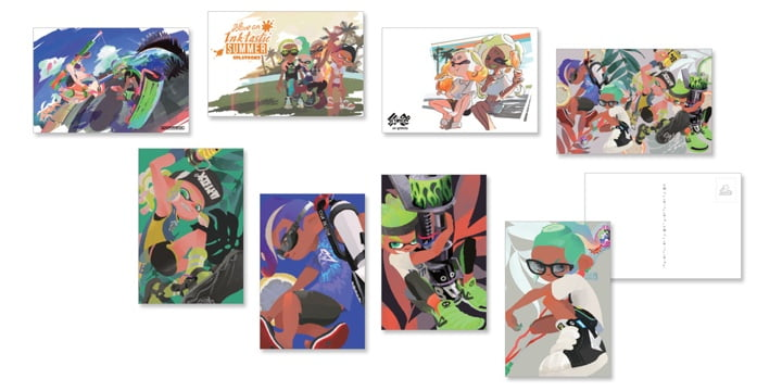 My Nintendo - Splatoon 2 postcards