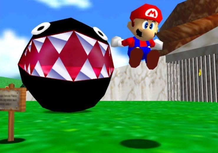 Super Mario 64 - Super Mario 3D All-Stars