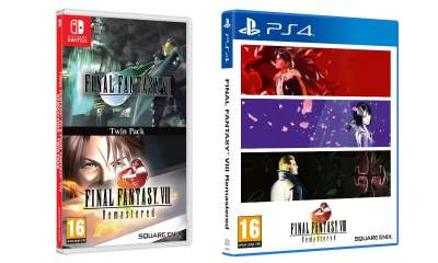 Final Fantasy VII Final Fantasy VIII twin-pack