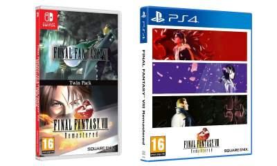 Final Fantasy VII Final Fantasy VIII twin-pack