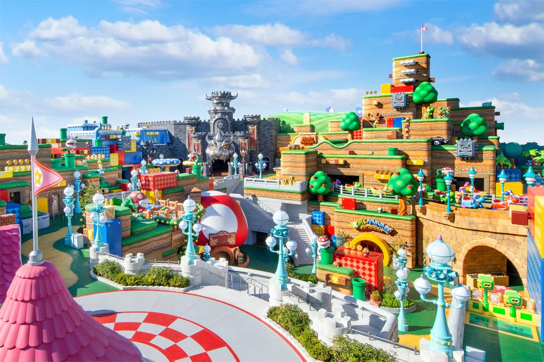 Super Nintendo World open date confirmed, new images released