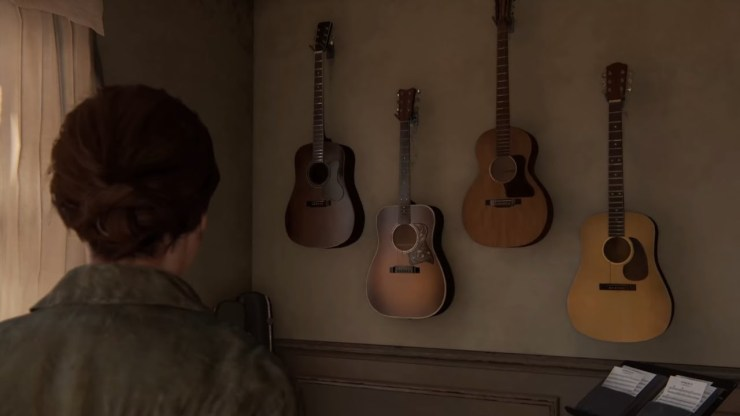 The Last of Us Part II Ellie Joels guitars