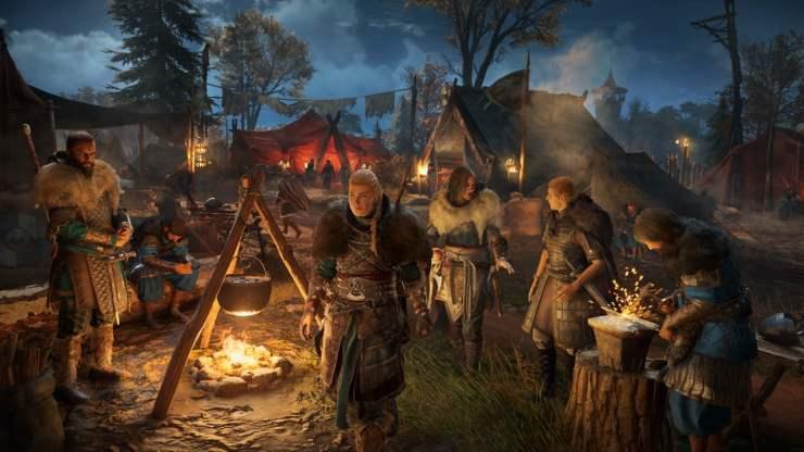 Assassin's Creed Valhalla encampment