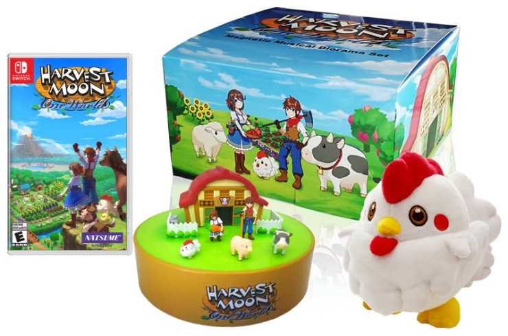 Harvest Moon: One World Collectors Edition