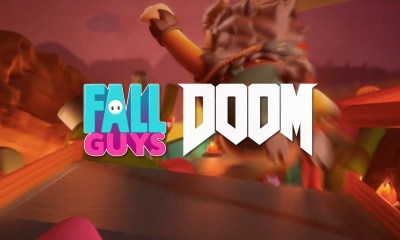 Fall Guys x Doom crossover