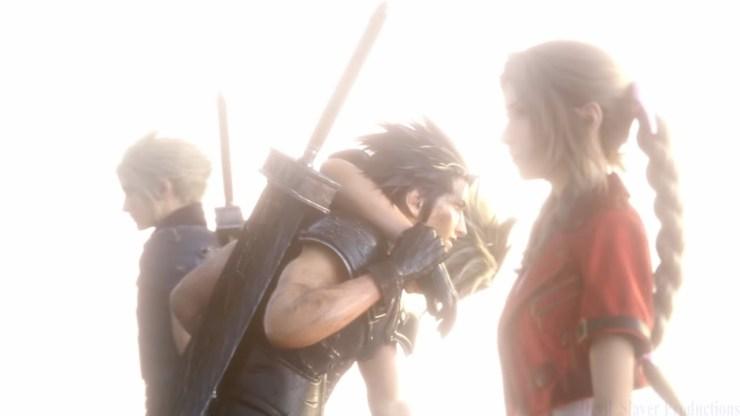 Final Fantasy VII Remake Cloud Aerith Zack