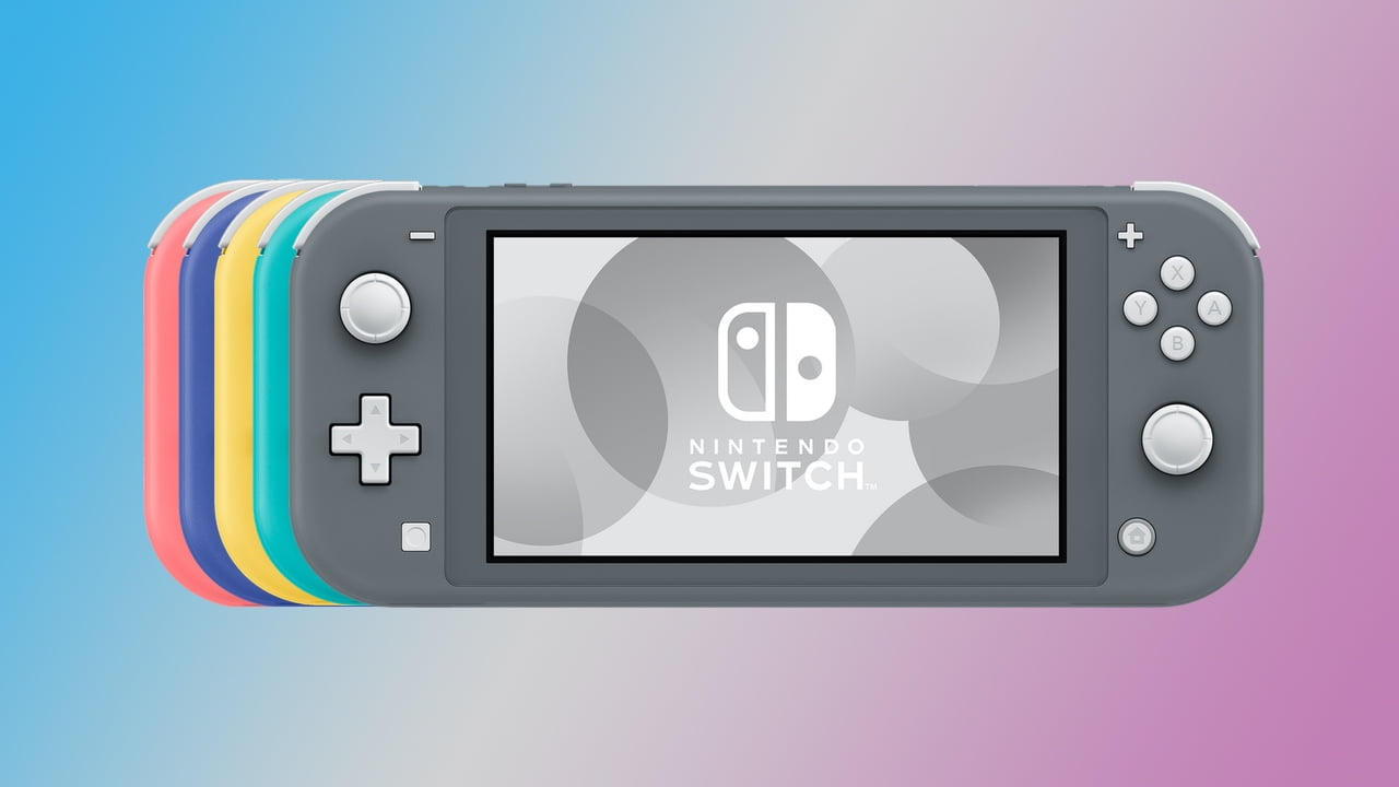 What colors does the Nintendo Switch Lite come in?