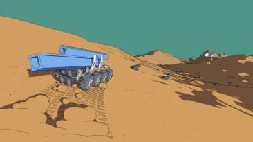 Mars First Logistics vehicle