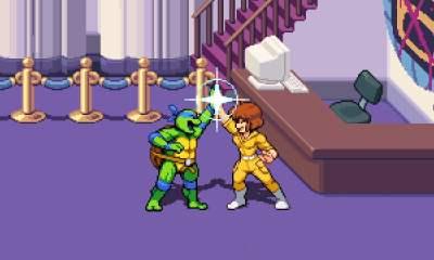 Teenage Mutant Ninja Turtles: Shredder's Revenge - April