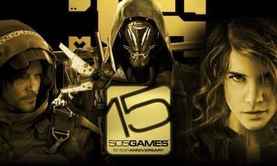 505 games 15th anniversary