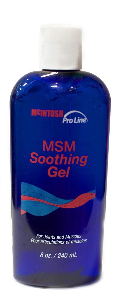 MSM soothing gel