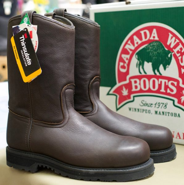 Click on boot image for larger view Made in Canada Men's Canada West Work Western