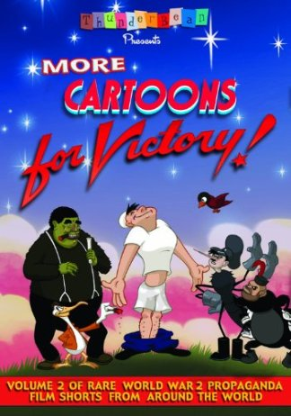 More Cartoons For Victory! Cover