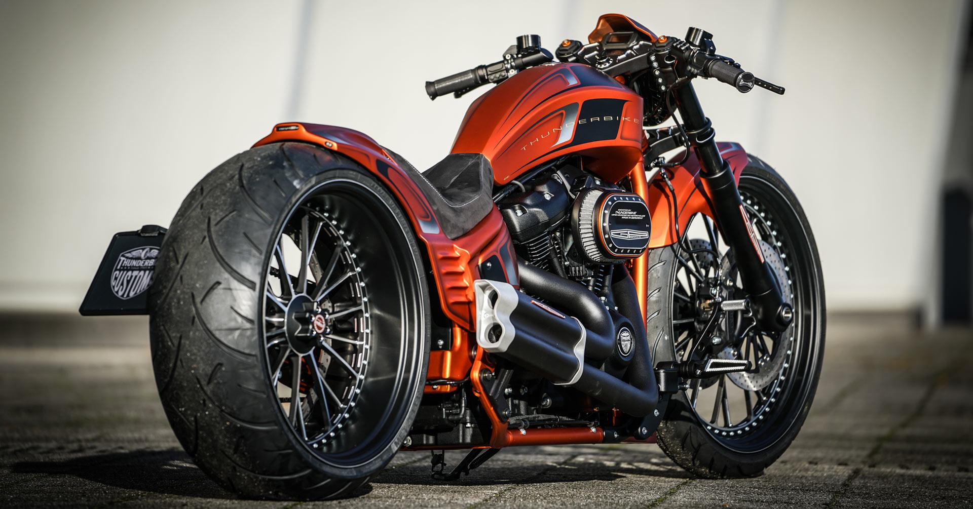 Harley Davidson Softail Umbauten Bei Thunderbike Customs