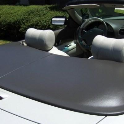 Flat Tonneau Cover  rear view