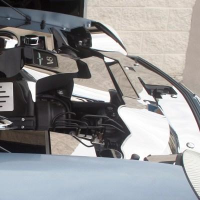 header plate set side view