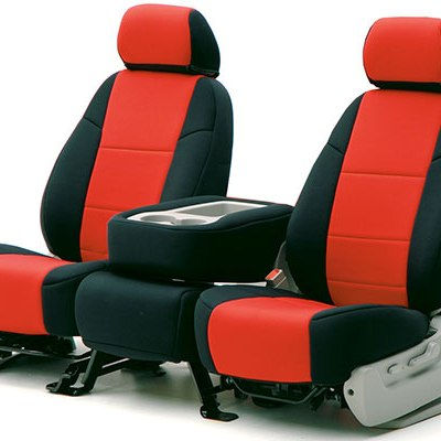 new Red:Black seat covers