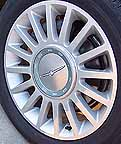 2004 Thunderbird 'Pacific Coast Roadster' Wheel