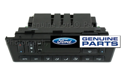 2002 Thunderbird OEM Climate Control Unit - DATC - Remanufactured