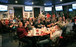 The South Alabama Jaguar softball team learned their destination on Sunday at Heroes Sport Bar and Grill during their NCAA Selection Show gathering. | Photo credit: usajaguars.com