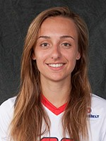 Sophie Haywood, Freshman from Hull, England, earned her first hat-trick against Southern Miss on Friday night as the Jags defeated the Golden Eagles 6-0. Photo: usajaguars.com