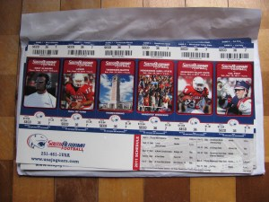 2011 Season Tickets
