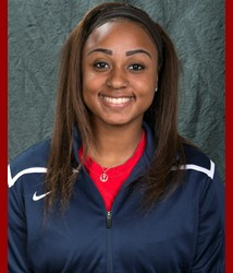 Freshman right handed pitcher Kalen McGill earned her first Pitcher of the Week honor on April 6. McGill has won her last five outings, and picked up two wins last week in relief. | Photo credit: usajaguars.com