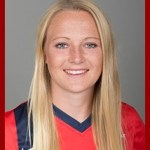 Freshman Jemma Purfield from Cottingham, England | Photo credit: usajaguars.com