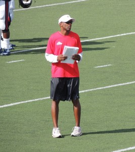 USA announced the hiring of former Samford University wide receivers coach Tim Bowens as the Jaguars next Wide Receivers coach. | Photo: http://thebowensbunch.blogspot.com