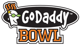 The GoDaddy Bowl is played at Ladd-Peebles Stadium in Mobile, Alabama and typically pits a Sun Belt Conference team against Mid-American Conference team. | photo: godaddybowl.com