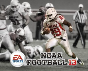 Alternate cover for NCAA Football 13