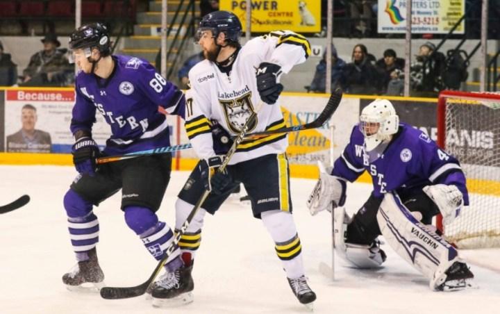 Western downs Lakehead 6-2 - Lakehead University Thunderwolves Men's Hockey
