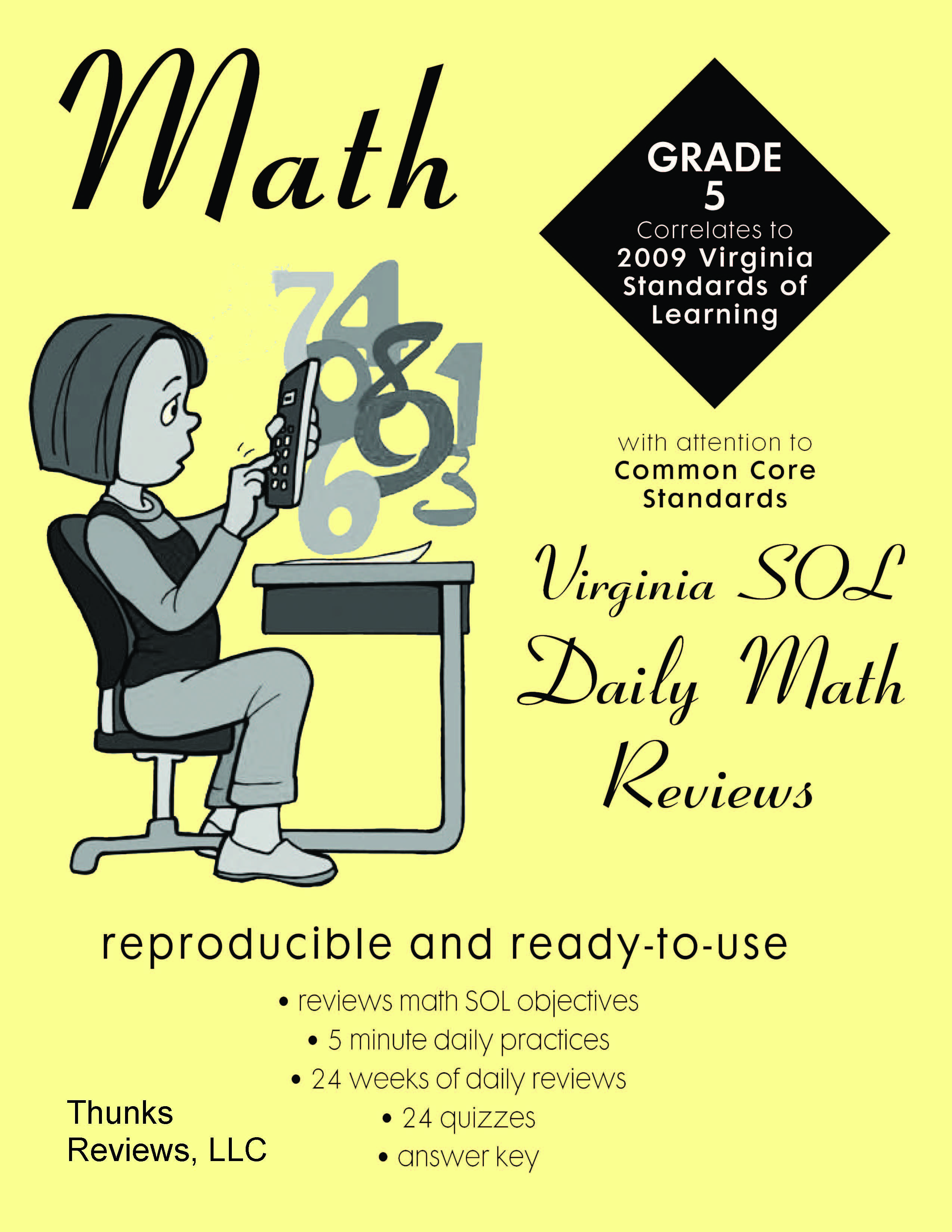 2nd Grade Math Study Guide Virginia Sols Math T