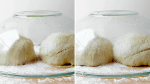 Gluten-Free Pizza Dough proofing