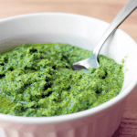 Mint and Arugula Pesto