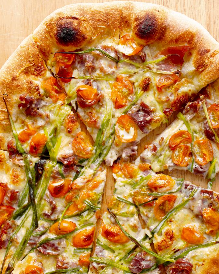 simple white pizza recipe