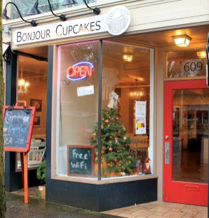 bonjour cupcakes downtown olympia