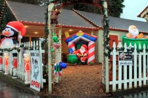 holiday display at eastside big toms