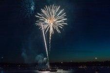 Boston Harbor Fireworks 5