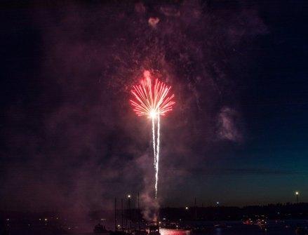 Boston Harbor fireworks 3