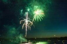 Boston Harbor fireworks 6