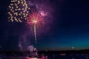 Boston harbor Fireworks 4