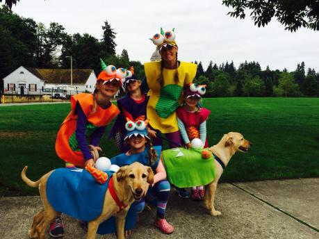 The Pet Parade is a family affair!
