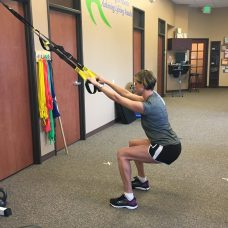 Abdominal and back strengthening exercises don't have to be sit ups.